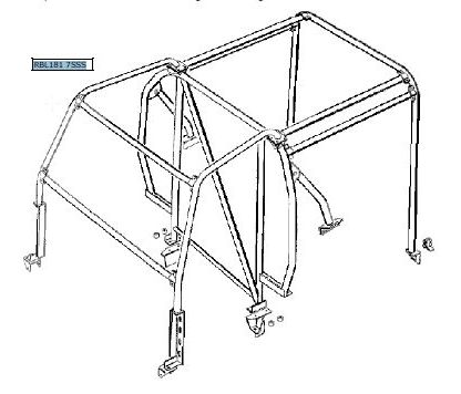 RBL1817SSS RollCage Illustration